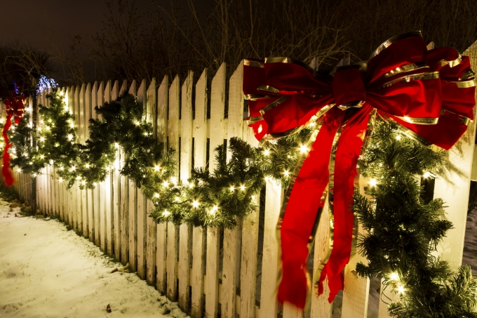 Decoração de Natal para jardins