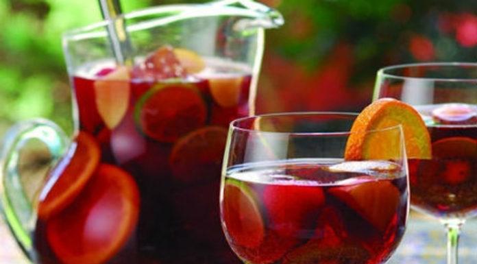 Receita de Sangria tradicional portuguesa de vinho tinto