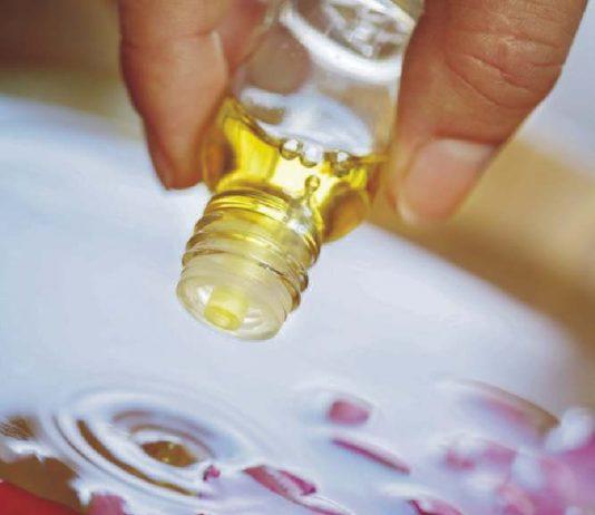 Óleos aromáticos para banho