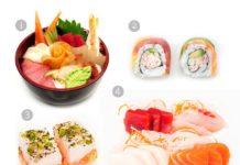 Conheça os tipos de sushi