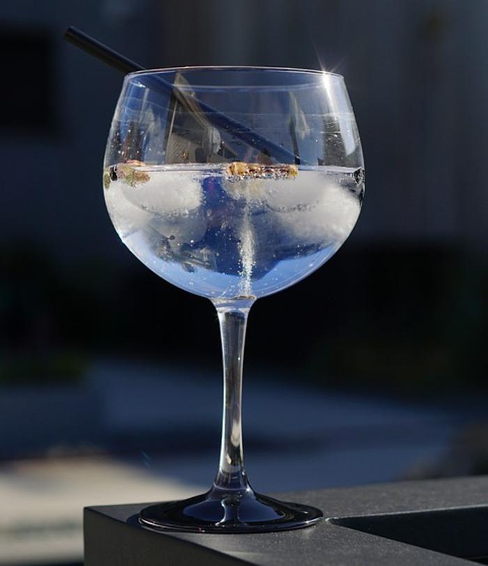 Receita de gin tónico