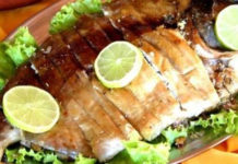 Receita de assado de peixe de rio