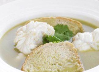 Receita de sopa de cação à alentejana