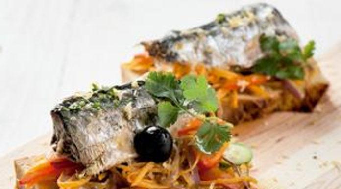 Receita de tapas de sardinha em conserva