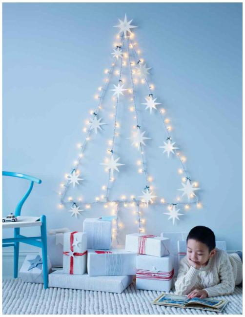 Árvore de Natal 2018 - árvore brilhante