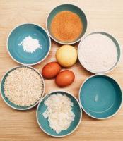 Os ingredientes a utilizar