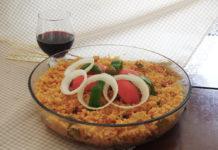 Receita de arroz da família