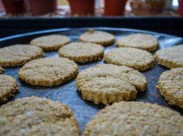 Biscoitos de aveia Light e laranja