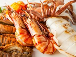 Cuidados e benefícios dos frutos do mar