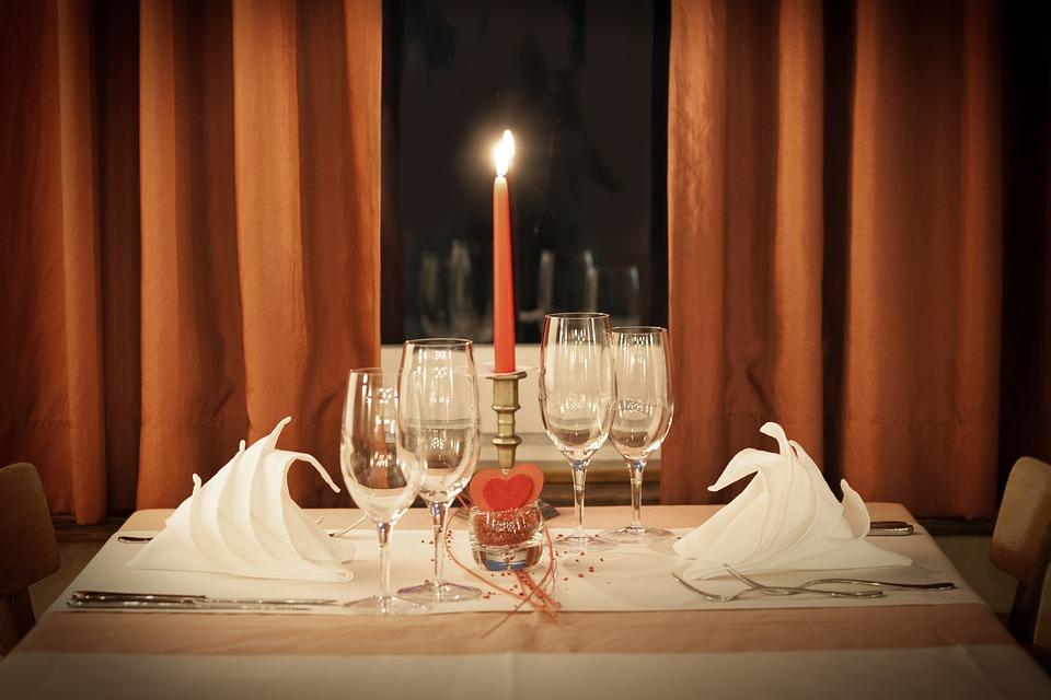Dia dos namorados - jantar romântico