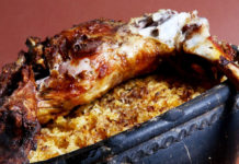 Receita de anho assado ou cabrito assado em forno de lenha