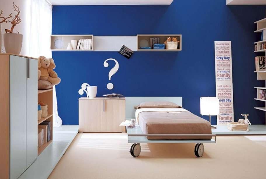 Significado da cor de parede:  azul
