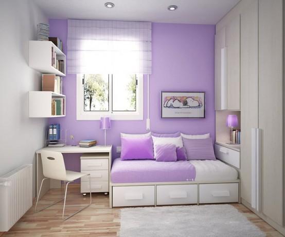 Significado da cor de parede:  lilás