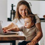 Como trabalhar em teletrabalho com filhos