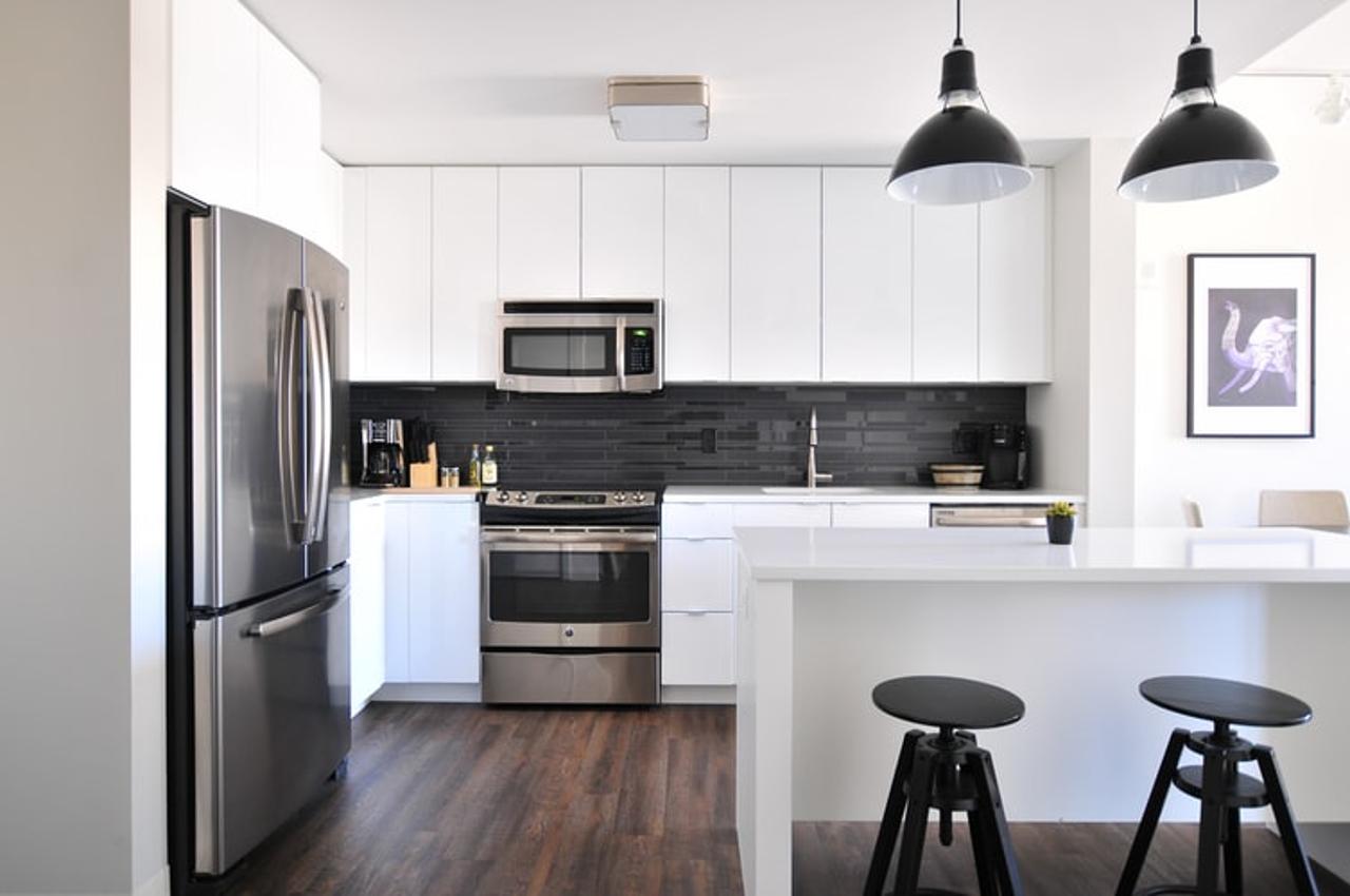 Organize a cozinha