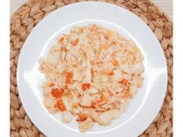 Arroz de bacalhau com pimentos